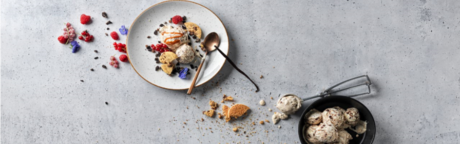 Glace Portionen I Desserts