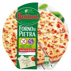 Pizza Margherita sans gluten (sans lactose)