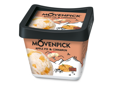 Mövenpick Apple Pie Cinnamon 4x900 ml