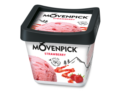 Mövenpick Classics Strawberry 4x900ml