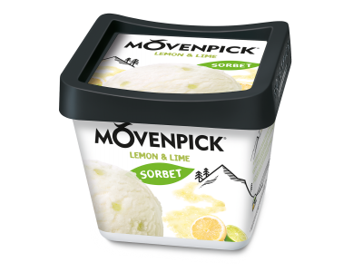 Mövenpick Délices de fruit Lemon & Lime 4 x 900ml