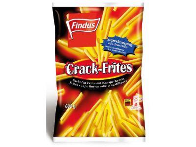 FINDUS Frites coupe fine et croustillante 8 x 600g