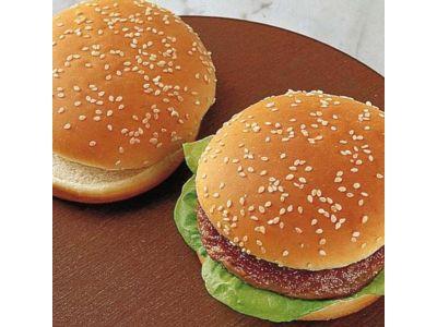 LEISI Hamburger Buns (TK) ø 9–10cm, 60 × 50g