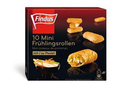FINDUS Mini Springrolls poulet 12 x (10 x 20g)