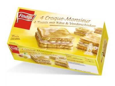 FINDUS Croque Monsieur 8 x (4 x 105g)