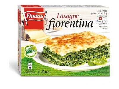 FINDUS Lasagne fiorentina, 1 Portion 10 x 360g