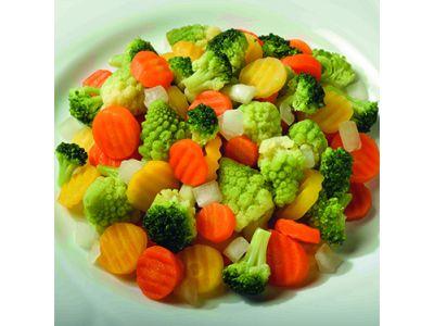 FRONERI Mélange de légumes «Romanesco», préparé 2 x 2500g