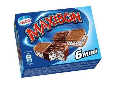 MAXIBON Mini Stracciatella 8 x (6 x 85 ml)