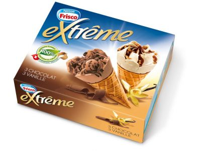 EXTRÊME Classic Vanille/Chocolat 4 x (6 x 145ml)