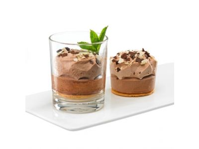 Mini-Chocolate-Mousse-Törtchen