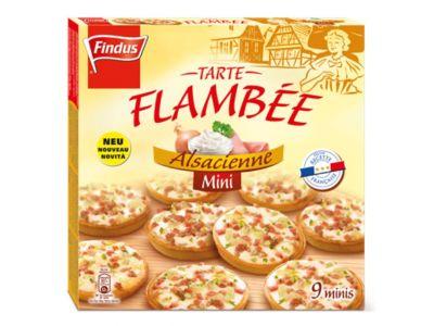 FINDUS Mini Flammkuchen Elsässer 9 x 30g