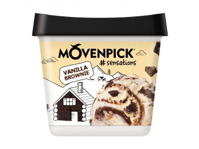MÖVENPICK Sensation Vanilla Brownie 4 x 900ml