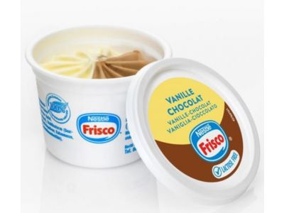 FRISCO Gobelets Isolante Vanille-Chocolat 20 x 90ml