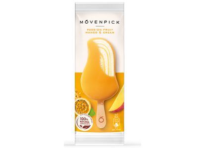Mövenpick Passion Fruit Mango & Cream Stick 20 x 90ml