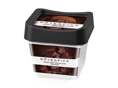 MÖVENPICK Swiss dark chocolate – Trinidad 4 x 900ml