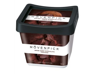 MÖVENPICK Swiss dark chocolate – Trinidad 4 x 900ml