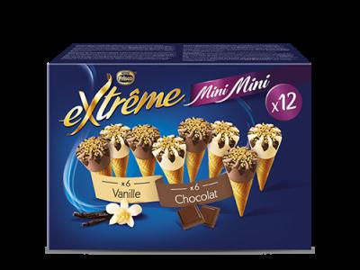 EXTRÊME Mini Mini Vanille Chocolat 5 x (12 x 29ml)