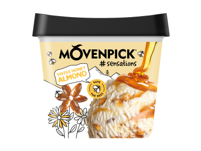 MÖVENPICK Swiss Honey Almond 4 x 900ml