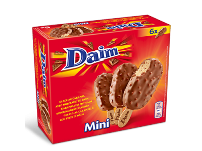 DAIM Ice Cream Mini Stick MP 8 x (6 x 50ml)