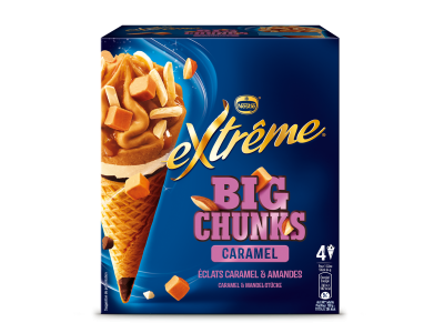 Extrême Big Chunks Caramel & Almond (4x100ml)