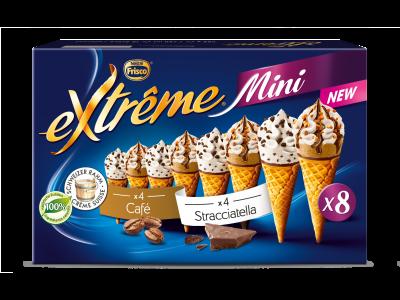 EXTRÊME Mini Stracciatella/Café 6 x (8 x 60ml)