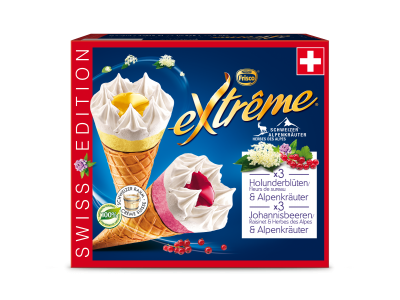 EXTRÊME Swiss Edition Holunderblüten/Johannisbeeren & Alpenkräuter 4x(6x145ml)