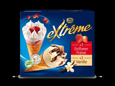 EXTRÊME Classic Vanille/Fraise 4 x (6 x 145ml)