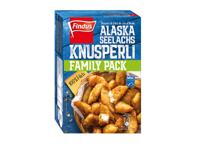 FINDUS Alaska Seelachs Knusperli MSC 9 x 400g