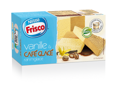 FRISCO Vanille/Café Glacé Rahmglace All Natural 6 x 750ml
