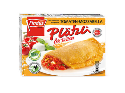 FINDUS Plätzli Tomaten/Mozzarella 8 x (8 x 60g)