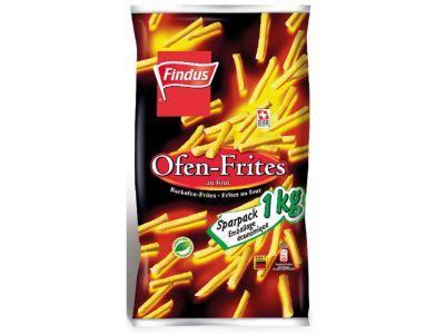 FINDUS Ofen-Frites 5 x 1000g