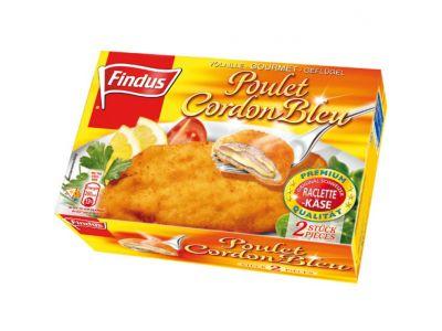 FINDUS Cordon-bleu de poulet 2 x 130g
