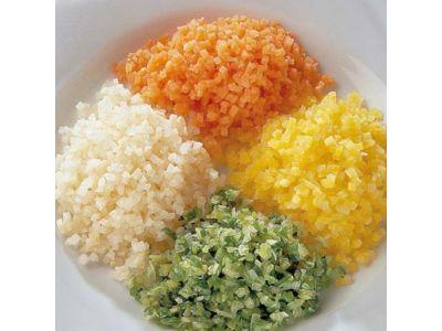 FINDUS Gemüse Brunoise assortiert 4 × 1250g