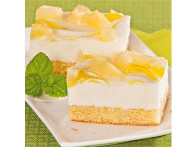 Ananas-Quark-Rahmschnitte