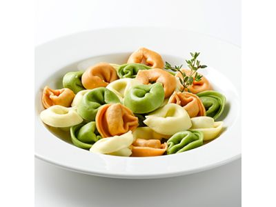 Tortellini Tricolore Basilikum 1 x 7kg