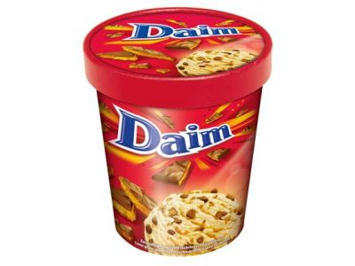 DAIM Ice Cream Tub 6 x 480ml