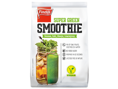FINDUS Super Green Smoothie 8 x 400g