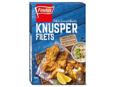 FINDUS Filets de poisson croustillants MSC 8x300g