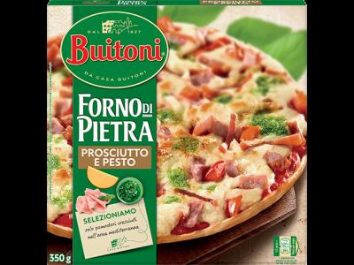 BUITONI FORNO DI PIETRA Prosciutto & Pesto