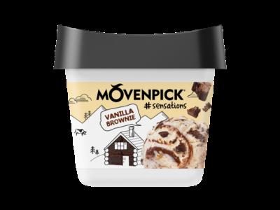 MÖVENPICK Sensation Vanilla Brownie 4 x 900ml