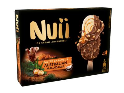 NUII Salted Caramel & Australian Macadamia 8 x (4 x 90ml)