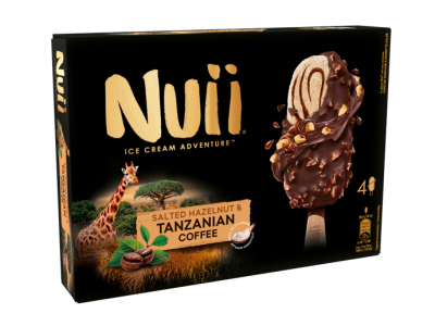NUII Dark Chocolate with Salted Hazelnuts & Tanzanian Coffee 8 x (4 x 90ml)