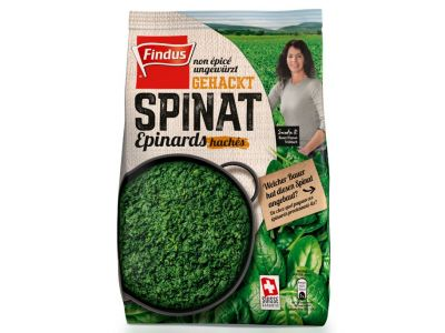 FINDUS Spinat gehackt, nature 6 x 800g