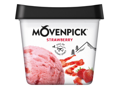 MÖVENPICK Classics Strawberry 4 x 900ml