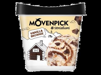 MÖVENPICK #sensation Vanilla Brownie 4 x 900ml