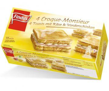 FINDUS Croque Monsieur 8 x (4 x 105g)