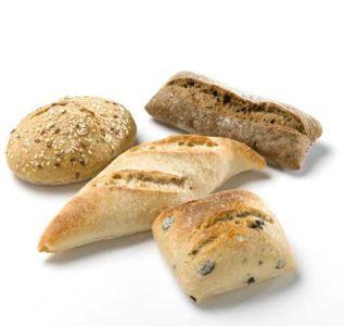LEISI Petit pains rustiques cuit sur pierre (HB) 60 × 45g