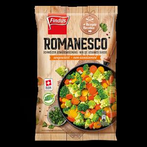 FINDUS Gemüsemix Romanesco, fixfertig 8 x 600g
