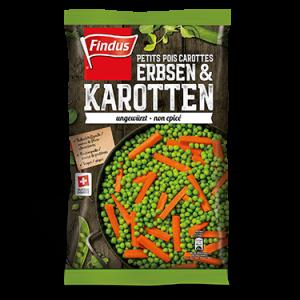 FINDUS Erbsen & Karotten 8 x 600g