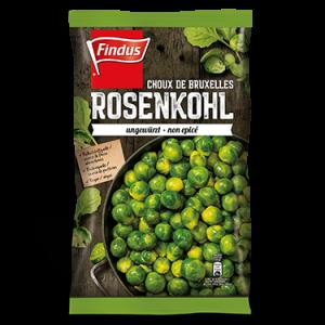 FINDUS Rosenkohl ungewürzt 8 x 600g
